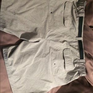 croft & barrow Shorts - Bundle:3x Men's CARGO Shorts:Grey/Tan/Khaki- EUC